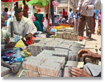 Image of a Money Market in Somalia